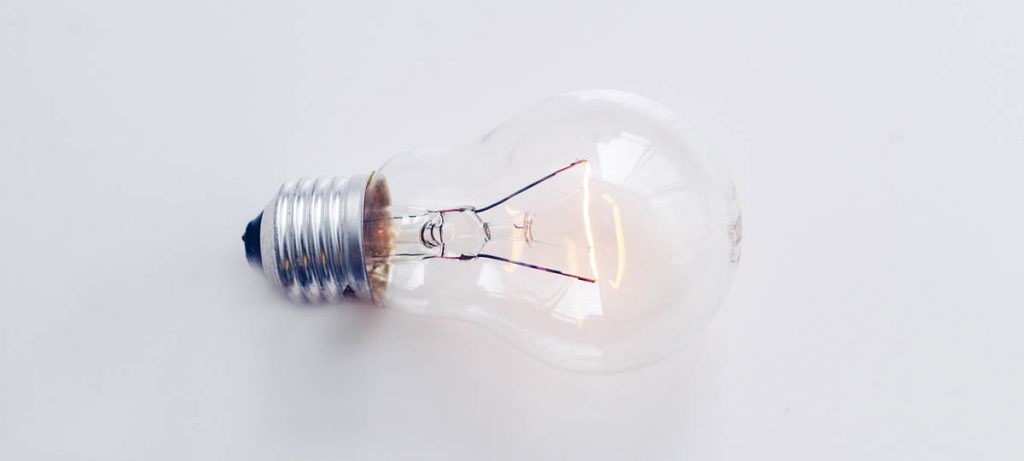Light bulb, energy certificate in a nutshell.