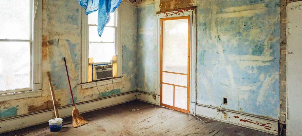 Renovation de l'interieur d'un bien immobilier