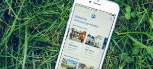 smart phone application Immoweb pour acheter et vendre