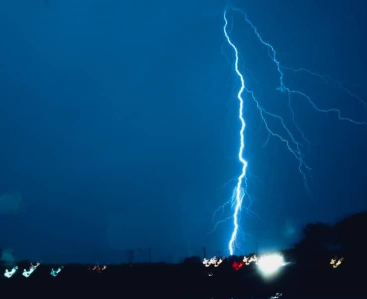 L'orage electrique