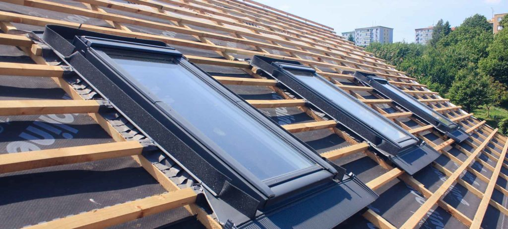 Energetische renovatie voor een dak